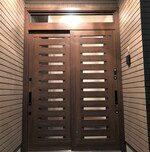ドアリモで一日で新しく玄関引戸…